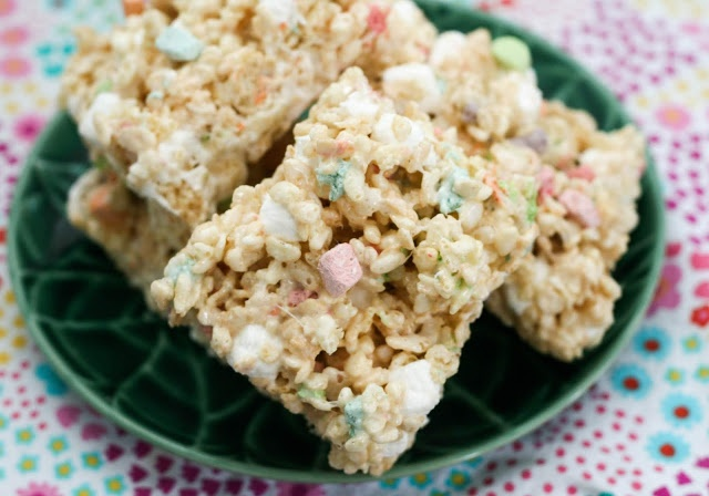 Marshmallow Lovers Rice Krispie Treats - Coconut & Lime
