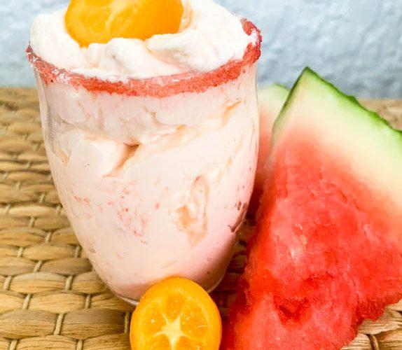 watermelon syllabub