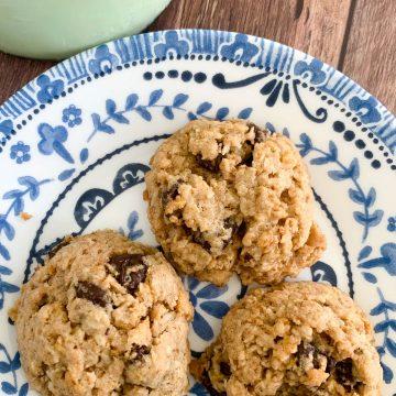 cornflake coconut oat cookies