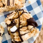 peanuts s'mores rice krispies treats