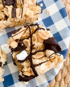 peanuts s'mores rice krispies treats