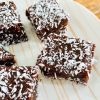 coconut chocolate butterscotch butter mochi