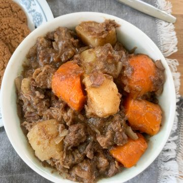 gingersnap beef stew