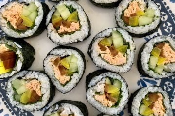 spicy tiuna kimbap