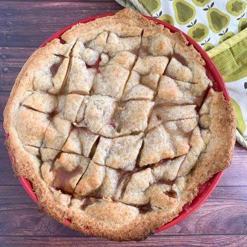 apple cranberry pandowdy