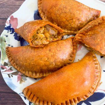 Chipotle Turkey Acorn Squash Empanadas