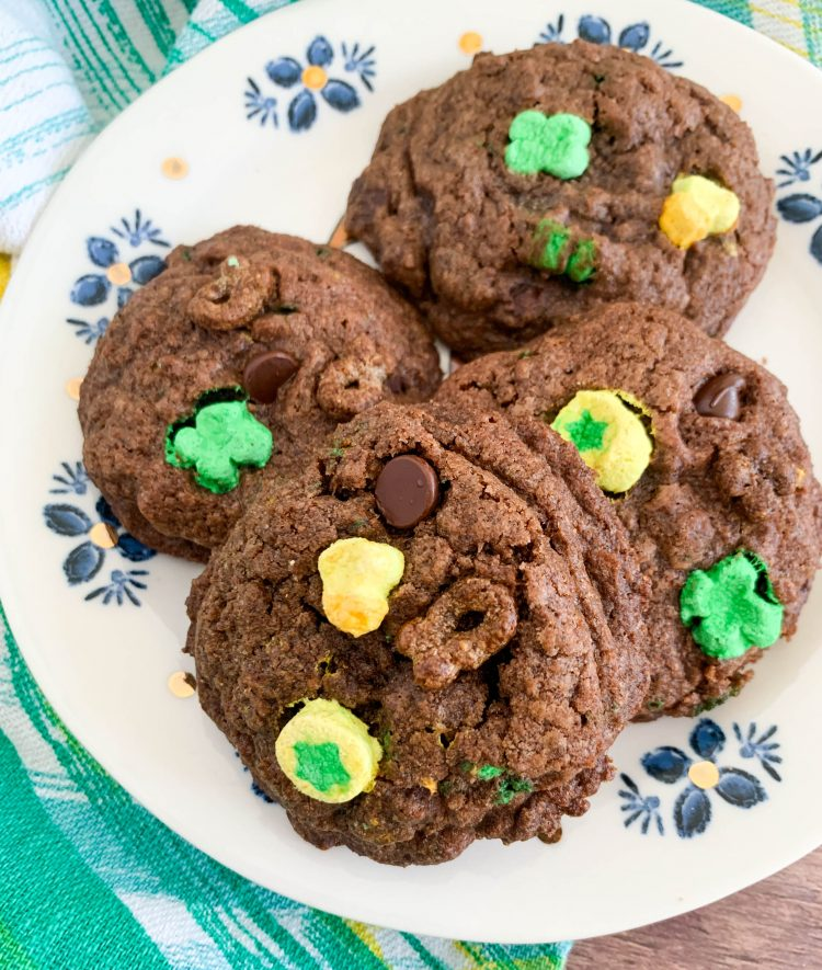 chocolate lucky charms cookies