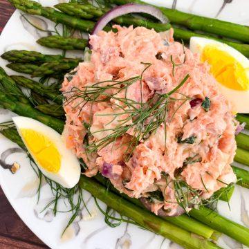 steelhead trout salad